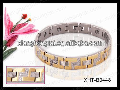 2013 wholesale bio magnet band as seen on tv magnetic bracelet with strong magnet ,germanium ,negative ion and far infrared