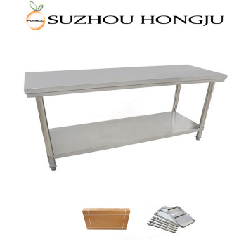 Hotel Restaurant Kitchen Stainless Steel Work Tables