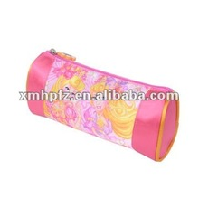 2012 satin pencil case with compartments