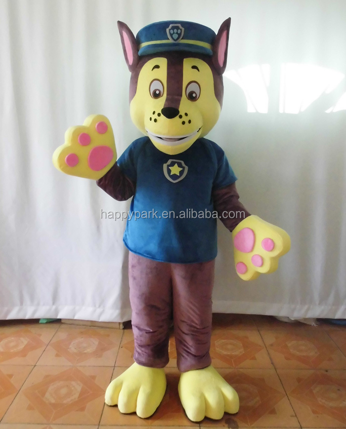 customized / custom made super hot sale high quality dog costume/professional cartoon character costumes/dog costume for adults