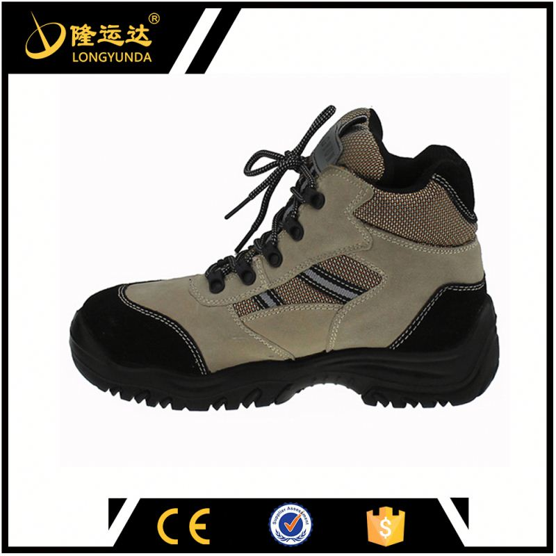 PU injection safety shoes -steel toe insert