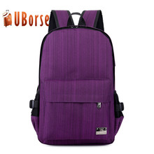 2017 Fashion Design USB charging laptop Compute backpack for women male Backpack school Bag for Men Mochila