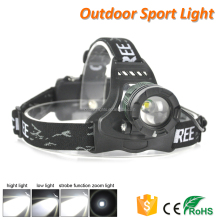 Outdoor Fishing Camping Hunting Head Lamp Rechargeable LED Headlamp