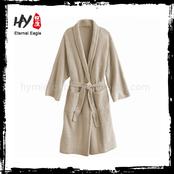 Multifunctional microfiber sport bathrobe with high quality