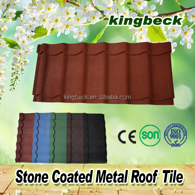 roof materials for baikal stone coated metal roof tile