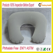 Flocked PVC U shape giant inflatable pillow