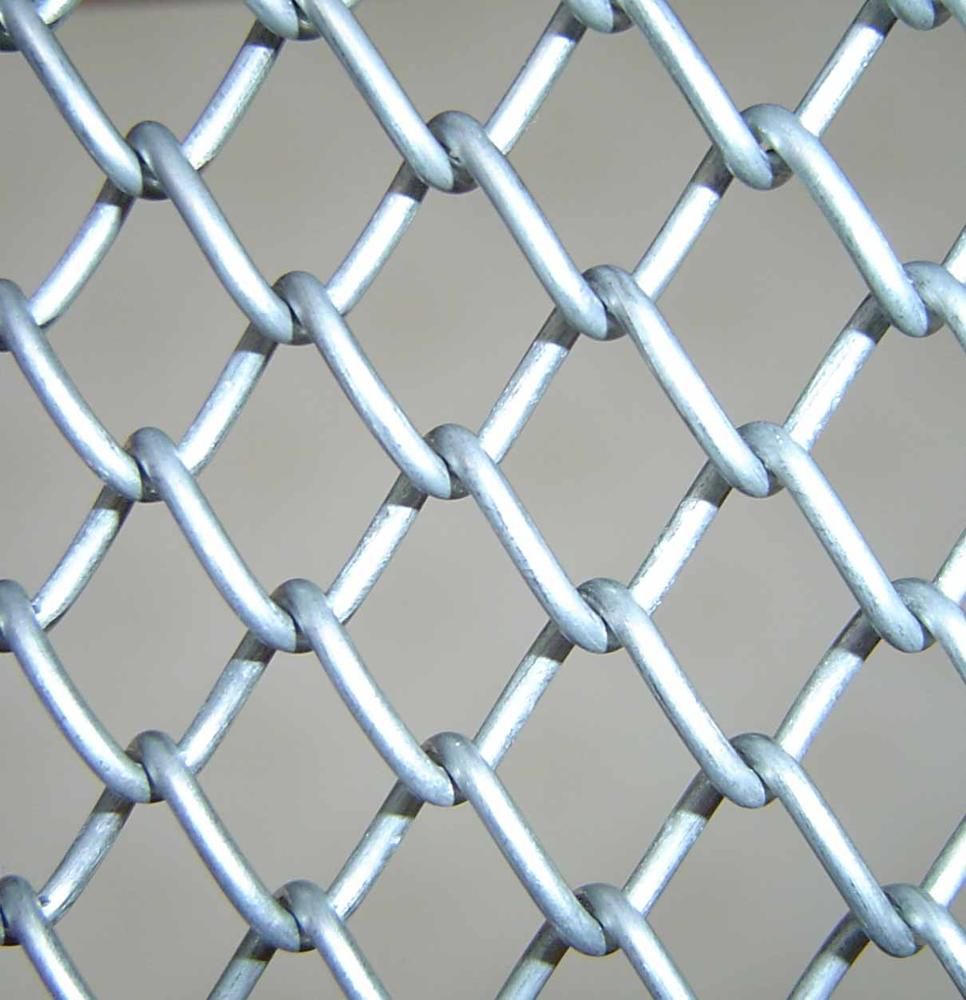 Hengshui factory electro galvanized pvc coated chain link fence for Factory