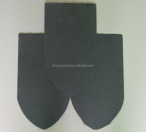 Popular Fish Scale Slate Roof Tiles