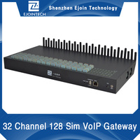 12 months warranty!! Ejointech 32 Ports 32/128 Sims goip gsm gateway 32 channel gateway unlimited voip calls to pakistan