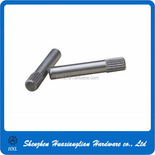 High precision stainless steel knurled dowel pin