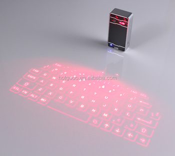 Langder Hot New Products Bluetooth Laser Virtual Keyboard with Rechagable Power Bank