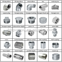 stainless steel cast/ casting/ casted pipe fittings