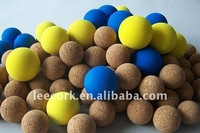 """LEECORK"" cork balls for floating, table football, toy bullet"