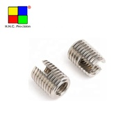 Brass Aluminum Slotted Self Tapping Threaded Inserts