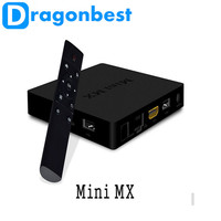 New amlogic s905 chip mini mx Quad core smart android tv box 1GB 8GB H.265 WiFi 1080p set tv box