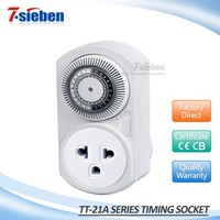 Power supply light and outdoor 230V 50HZ home use socket timer