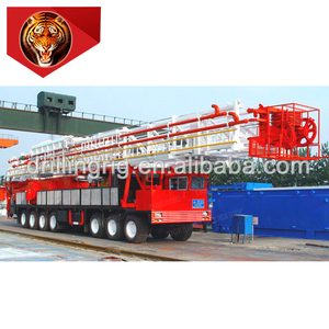 China tiger rig ZJ40 2250CZ truck-mounted workover rig
