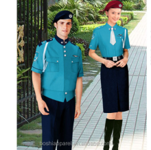 Unisex uniform for hotel worker hotel security guard uniform suit for sale