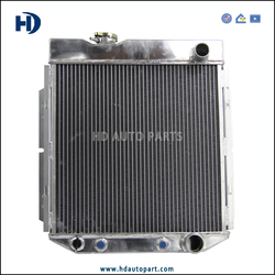 Aftermarket Auto Radiator for Ford Mustang V8 68-69