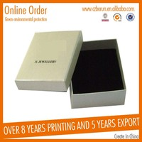 Professional logo printed luxury apparel packaging box gift box with CE certificate