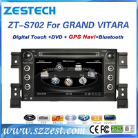 For Suzuki Grand Vitara 2006-2015 car dvd player with dvd vcd music video function touch screen gps navigation