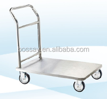 New Arrived Wholesale Price Custom-Made Stainless Steel Flat Trolley