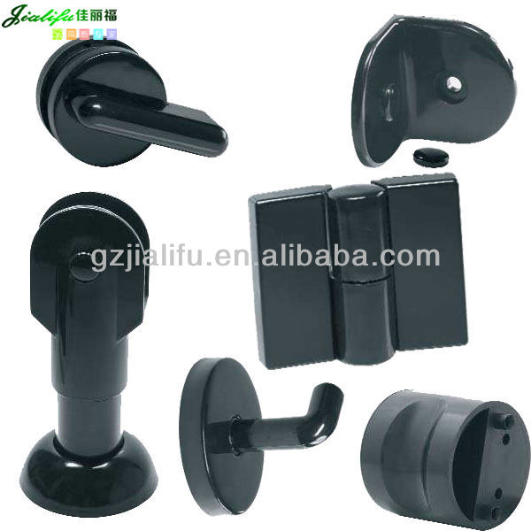Jialifu Nylon compact laminate cubicle toilet partition hardware