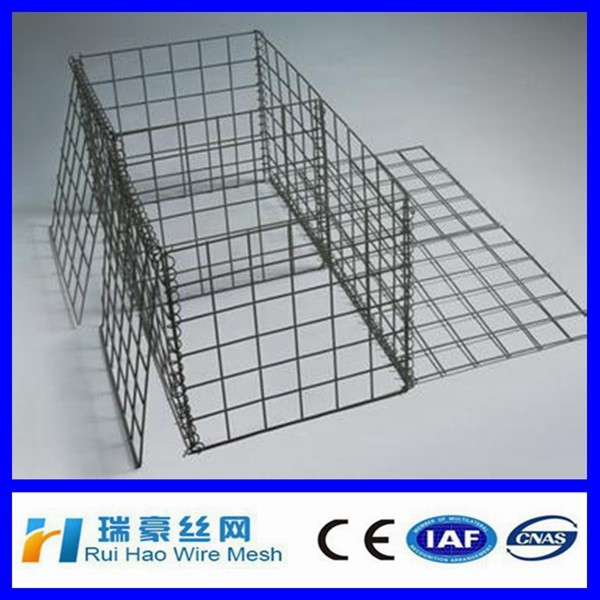 Export Standards Gabion box PVC coating gabions direct factory