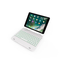 Newest Supper Light Clamshell Backlit Wireless Bluetooth Keyboard Case Cover for All Ipad 9.7