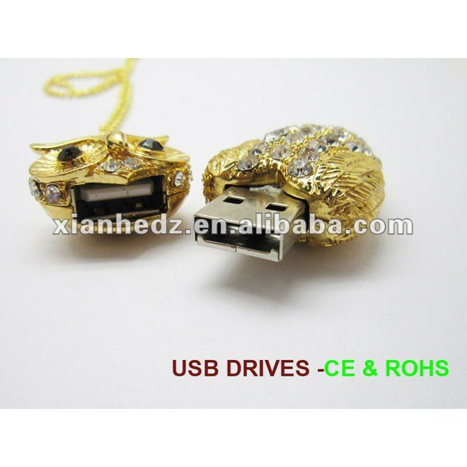 Girl gift jewelry owl usb flash,china usb flash,manufacturers,suppliers&exporters