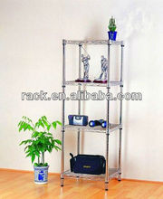 Adjustable 4 Tiers Chrome Metal Rack- Metal <strong>Shelf</strong> Manufacturer with NSF Approval