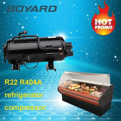boyard ce rohs single phase refrigeration compressor 1hp r22 r404a for freezers refrigerator curtain cooling room