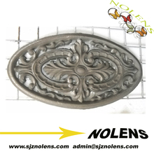 Top Sales Decoration Parts Pickets Post Caps Cast Iron Panels from China Hebei Factory