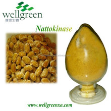 GMP ISO HALAL Certified High Quality Natto Soybean Nattokinase Extract Powder