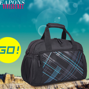 Guangzhou supplier nylon walmart travel bags promotional mesh sport bag high end travel bag
