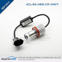 Automotive Three Colors Cree 10W H1 H3 880 881 H8 H9 H10 H11 H16 9005 9006 LED fog lamp for mazda