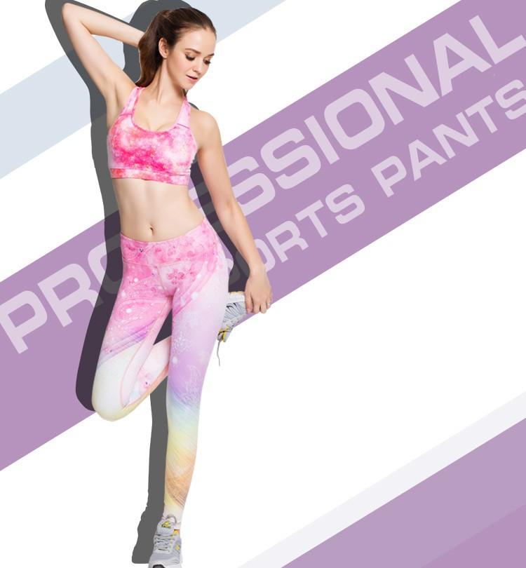 Newest Design High Waist 3d Rugby Seahawks Printed Sport Women Leggings 3