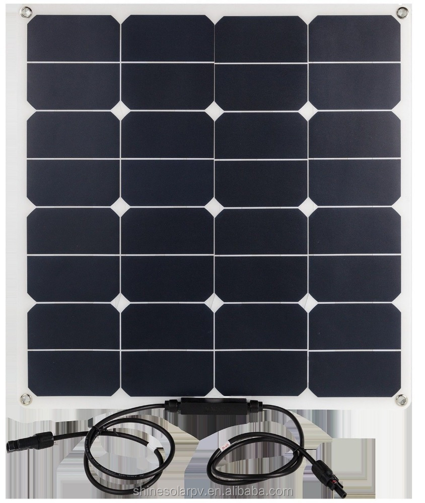 2017 Newest Sunpower solar panel the solar panel 50w solar panel system
