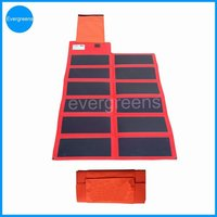 36W foldable amorphous 12 volt solar panel battery charger