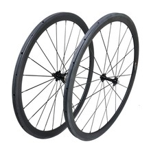 Clearance 38mm Tubular Super Light Carbon Wheelset For Road Bike