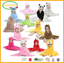 China Manufacture wholesale hooded baby towel bath towel embroidered towel with great price