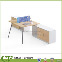 CF 25mm thickness assembly modern office cubicle workstation furniture