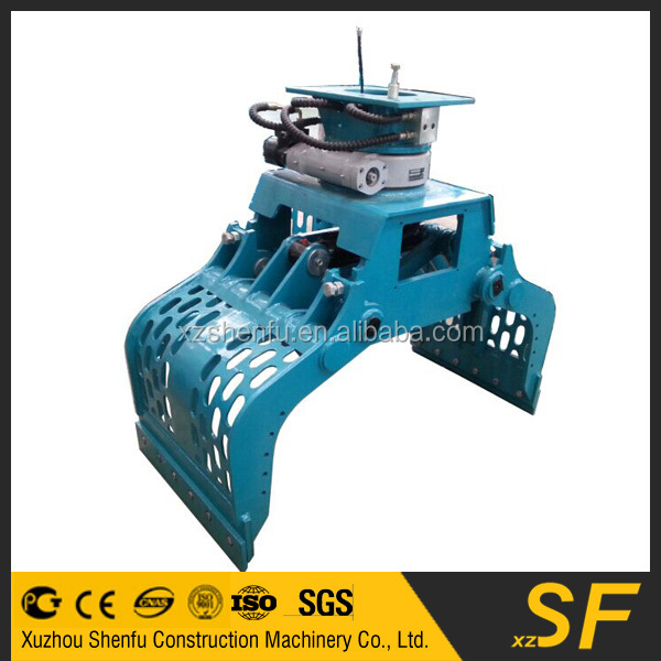 excavator stone grap,excavator grapple bucket of high quality for sale