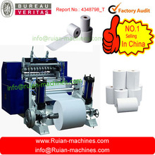 high quality automatic roll thermal paper slitting Machine price