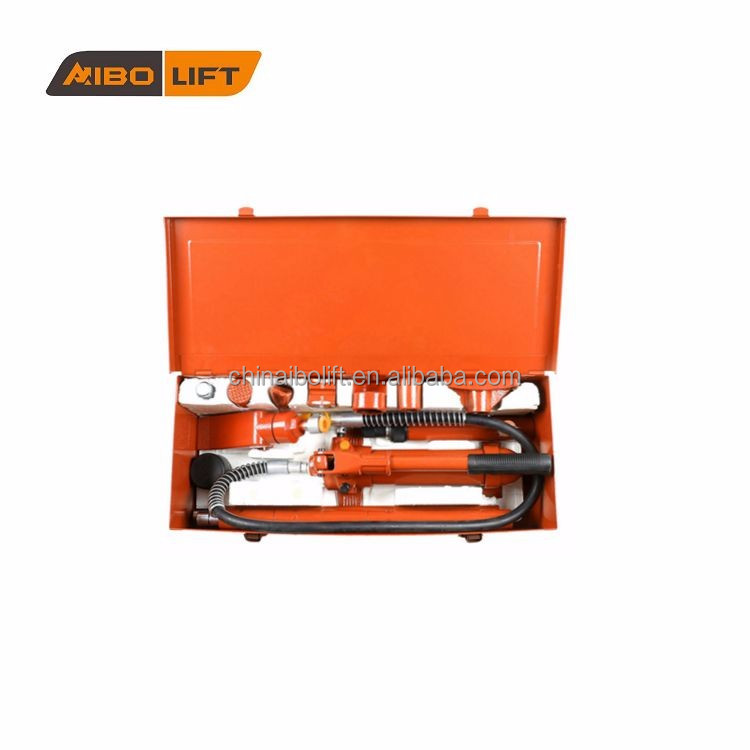 4 Ton Porta Power Jack Hydraulic Porta Power Set Auto Body Tool Kit Jack