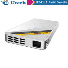 Home Theater 1280*800 native resolution 100lumens Full HD Video USB HDMI TV 1080P LED 3D Projector