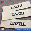 Good quality Natural cotton silk screen printing label
