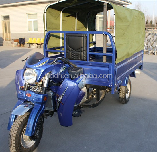 China export three wheel motorcycles for Africa