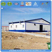 Steel prefab mobile fast building construction container house