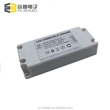 5w 15w 15-36v dc 350ma 0 10v dimmable led driver power supply